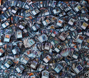 Snapshot of 4,800+ blue cards, Magic The Gathering