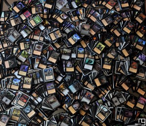 Snapshot of 4,200+ black cards, Magic The Gathering