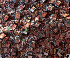 Snapshot of 4,400+ red cards, Magic The Gathering