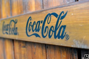 Coca-Cola in Warwick Castle