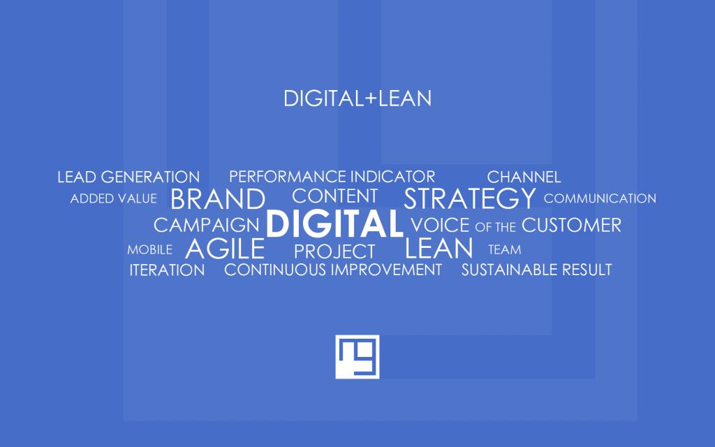digital communications + lean