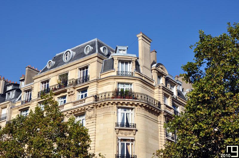 Toits parisiens