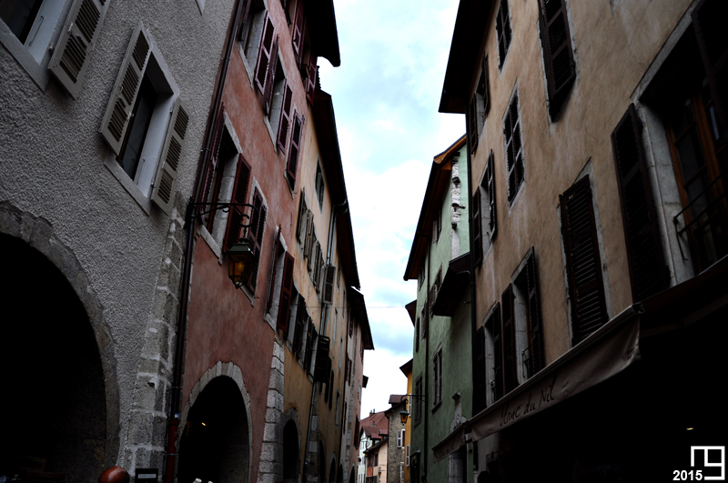 In A Street of Annecy